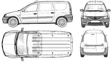 Dacia Logan Van (2009)
