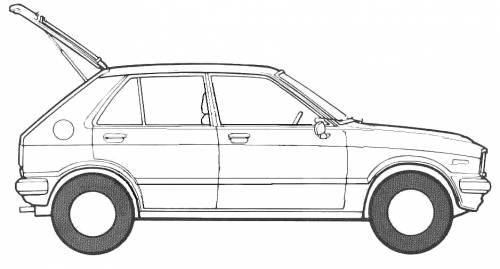 Daihatsu Charade G10 5-Door (1981)