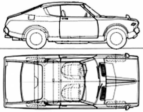 Datsun 160J Violet 710 Coupe (1977)