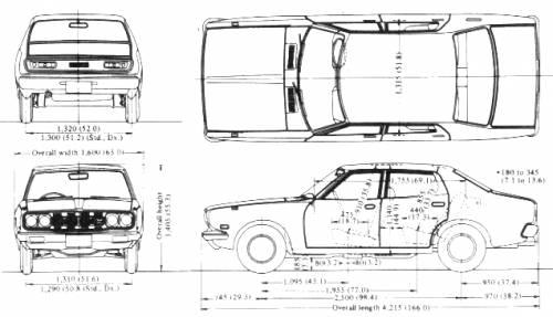blueprints gt cars gt datsun gt datsun 180 b 610