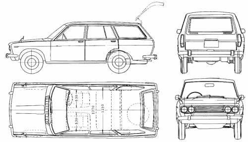 Datsun Bluebird 510 Wagon (1970)