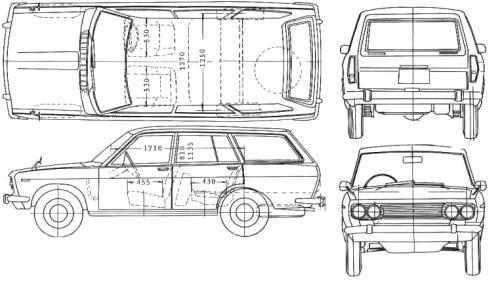 Datsun Bluebird 510 Wagon (1973)