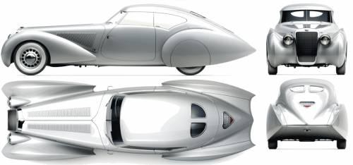 Delage D8 120S Aerosport Pourtout (1936)