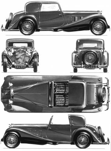 Delage D8 SS Sedanca Coupe (1933)