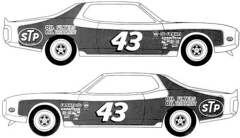 Dodge Charger NASCAR [Petty] (1974)