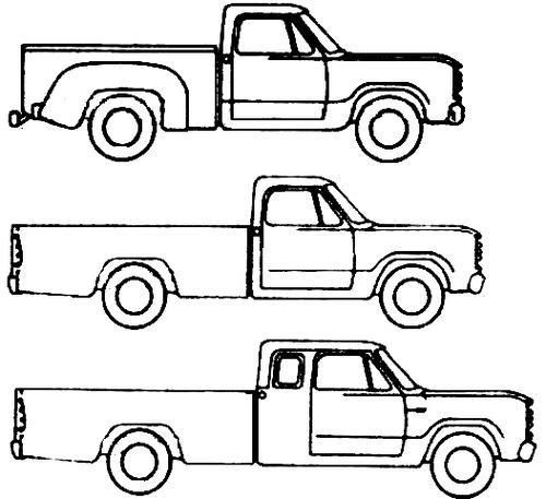 Dodge D-150 (1979)