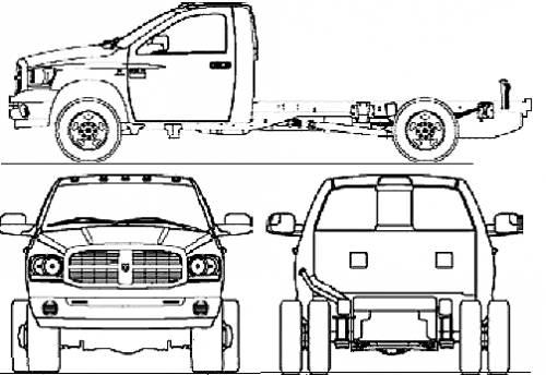 Dodge Ram 3500 Reg. Cab Chassis (2007)