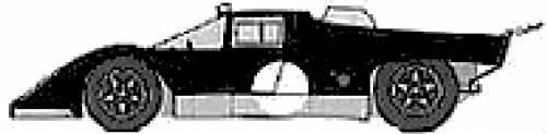 Ferarri 512M Le Mans (1971)
