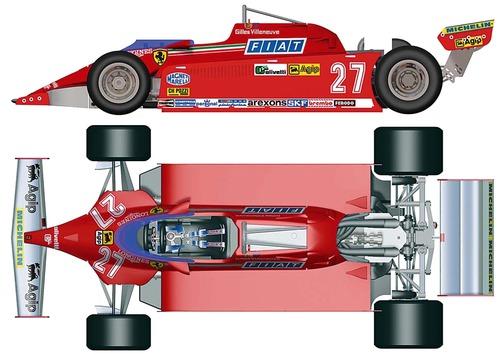 Ferrari 126 CK F1 GP (1981)