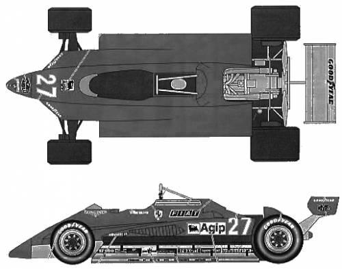 Ferrari 126C2 San Marino GP (1982)
