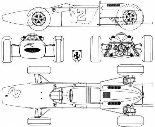 Ferrari 158 V8 F1 GP (1964)