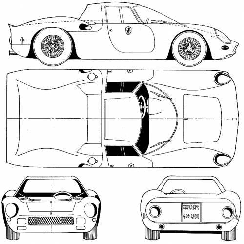 Ferrari 250 LMB Berlinetta Le Mans (1964)