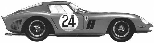 Ferrari 250GTO Le Mans (1962)