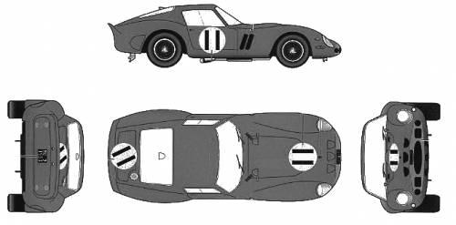 Ferrari 250GTO Ver.B (1962)