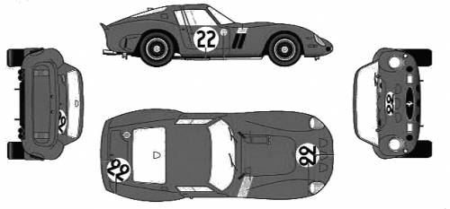 Ferrari 250GTO Ver.E (1962)