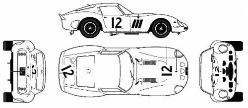 Ferrari 250GTO Ver.F (1962)