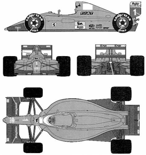 Ferrari 641-2 F1 GP