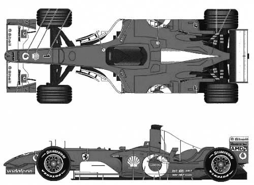 Ferrari F2003-GA Italian GP (2003)