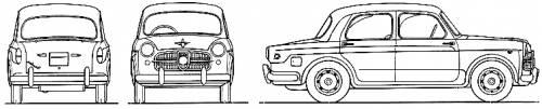 Fiat 1100-103D Millecento (1959)