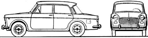 Fiat 1100D (1966)