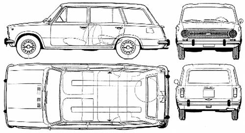 Fiat 124 Familiale