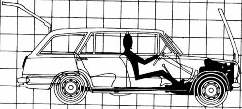 Fiat 124 Familiale (1969)
