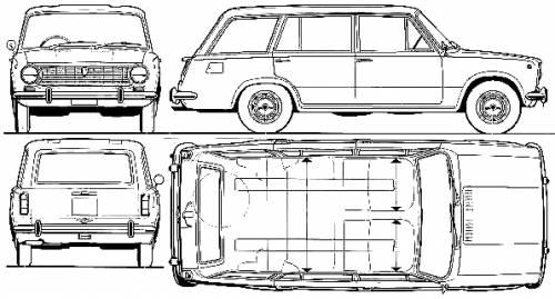 Fiat 124 Familiale (1972)