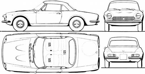 Fiat 124 Spider 1400 (1971)