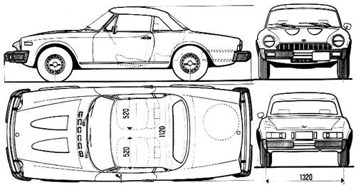 Fiat 124 Sport Spider 1800 (1978)