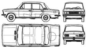 Fiat 125 Argentina (1972)