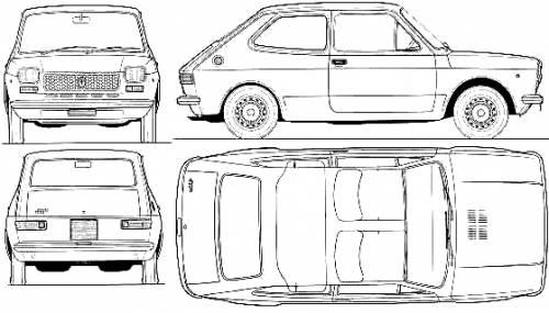 Fiat 127 2-Door (1975)