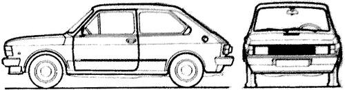 Fiat 127 CL (1983)