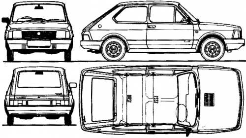 Fiat 127 CL 3-Door (1983)