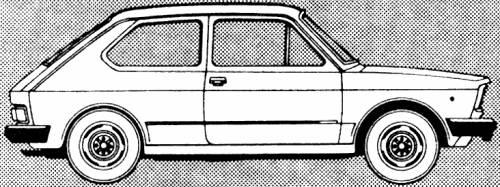 Fiat 127 L (1980)