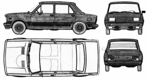 Fiat 128 1300TV