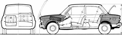 Fiat 128 2-Door (1973)