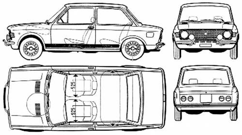 Fiat 128 2-Door Rally