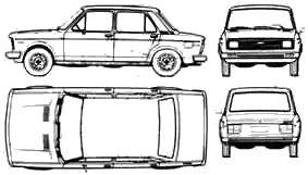Fiat 128 Europa 4-Door Argentina (1978)