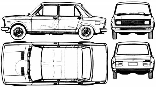 Fiat 128 Europa CF