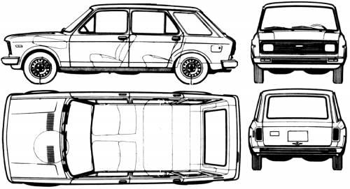 Fiat 128 Europa CF Weekend
