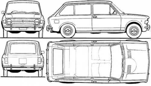 Fiat 128 Familiare (1969)