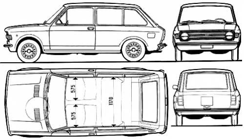 Fiat 128 Familiare (1972)