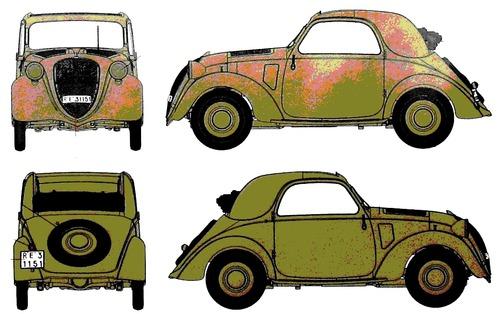 Fiat 500 Topolino (1939)