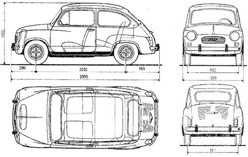 Fiat 600 S 1977- (1982)