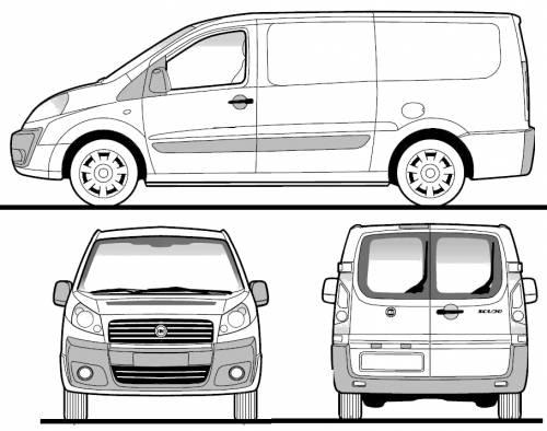 Fiat Scudo Panel Van MWB (2008)