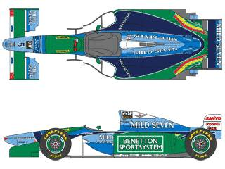 Benetton Ford B194 F1 GP