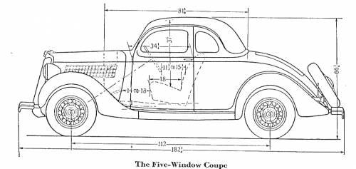blueprints  u0026gt  cars  u0026gt  ford  u0026gt  ford 5 window coupe  1935