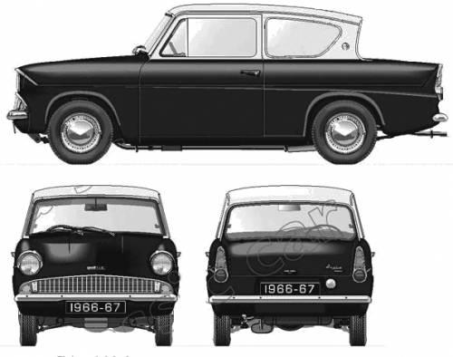 Ford Anglia 105E (1966)