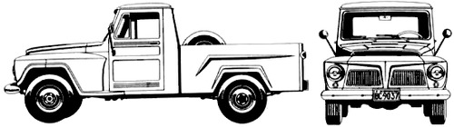Ford BR F-75 Pick-Up (1980)