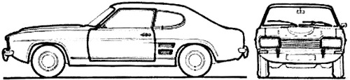 Ford Capri 1600 XL (1973)